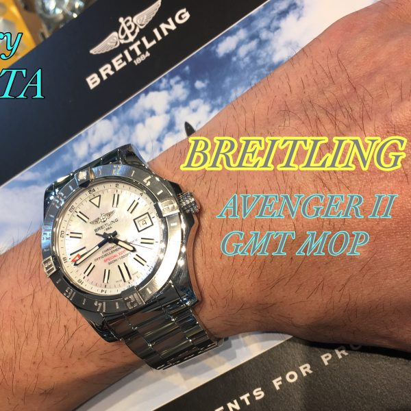 BREITLING アベンジャーⅡ GMT NATURAL MOP