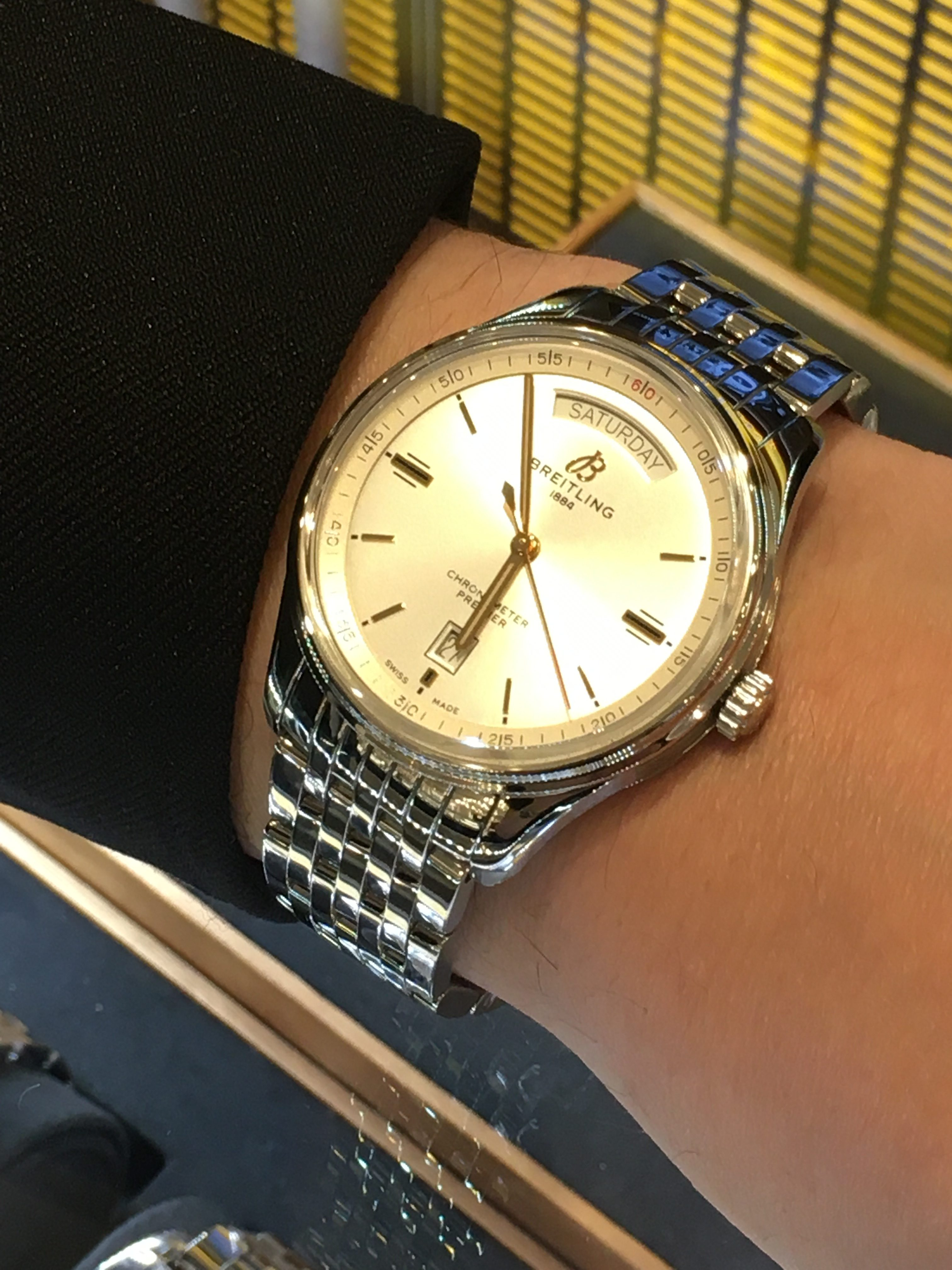 BREITLING プレミエ AUTO DAY&DATE40