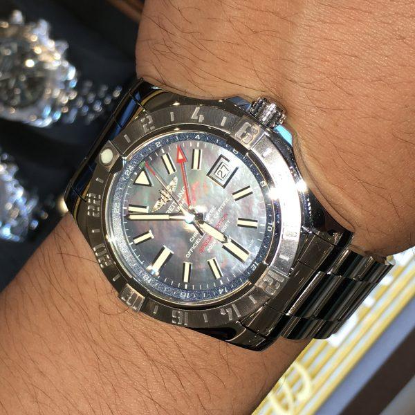 BREITLING AVENGERⅡ GMT 43 JAPAN Edi.